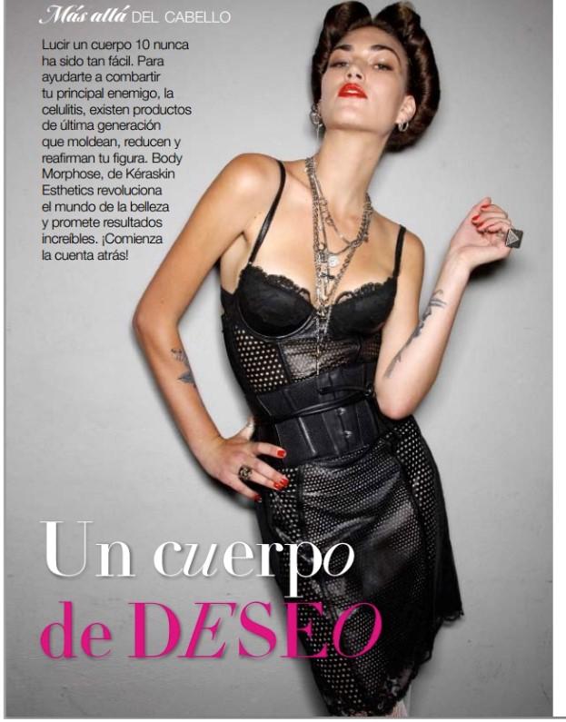 Revista Glamour imagen artículo de moda interior